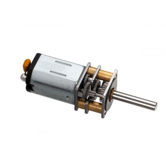 Winch motor and gear