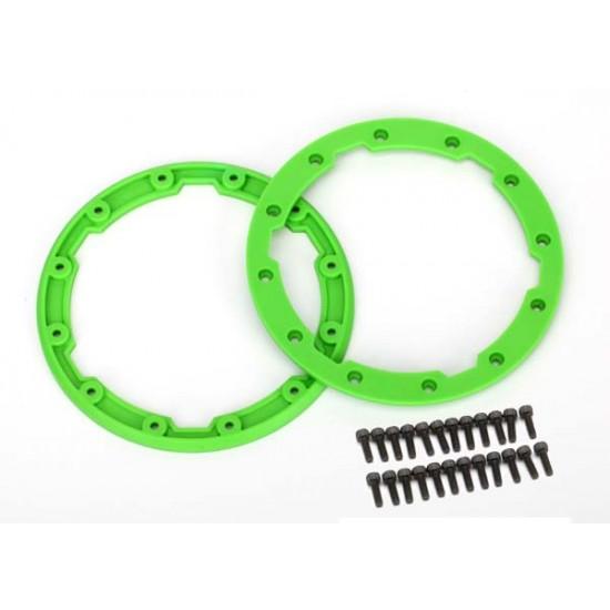 Sidewall protector, beadlock style, green (2)