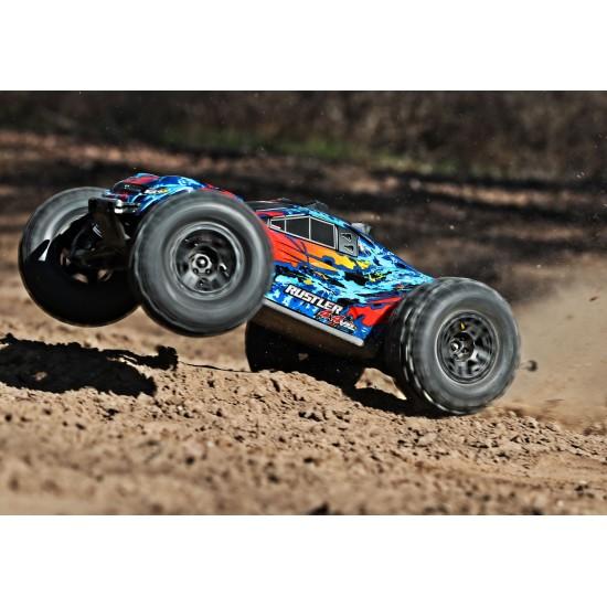 Tires and wheels, black wheels, Sledgehammer tires (2)