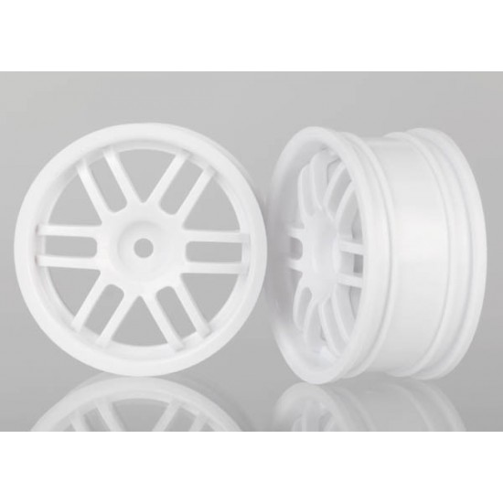 Wheels, Rally, white, 1/16 (2)