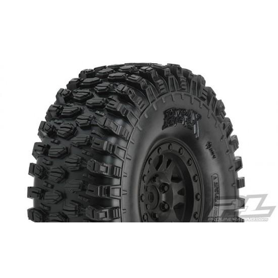 "Pro-Line Hyrax 1.9"" G8 tires, Impulse Bead Loc Wheels (2)"